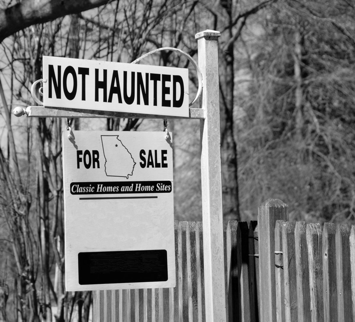 For Sale Sign (not haunted)